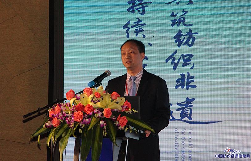 中国纺织出版社社长郑伟良讲述《纺织非遗知识传播与数字化出版》