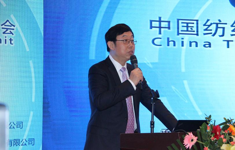 中国纺织工业联合会信息统计部主任翟燕驹